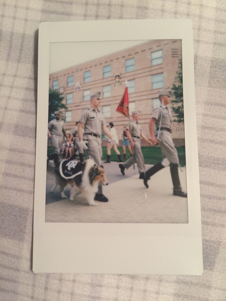 reveille and the corps